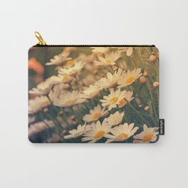 White daisy sunrise effect Carry-All Pouch