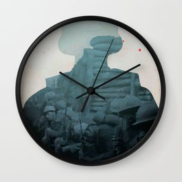 Paths of Glory, Stanley Kubrick, movie poster, Kirk Douglas, Orizzonti di Gloria, WWI war movie Wall Clock