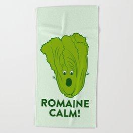 ROMAINE CALM Beach Towel