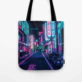 A Neon Wonderland called Tokyo Tote Bag