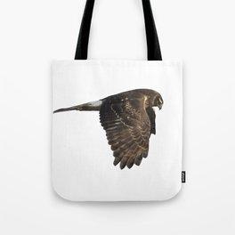 Northern Harrier Hunting, No. 4 Tote Bag