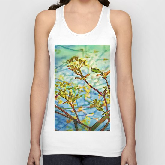 Budding Branches Unisex Tank Top