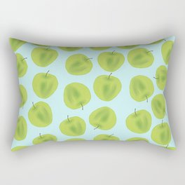 Green Apple Goals Rectangular Pillow