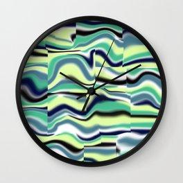 Abstract pattern 155 Wall Clock