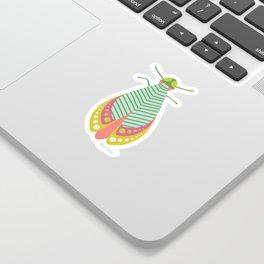 Summer Moth Sticker