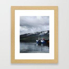 Ullapool harbor Framed Art Print