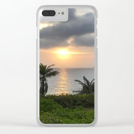 Sunrise in the Bahamas Clear iPhone Case