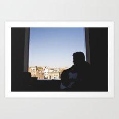damien // npr Art Print