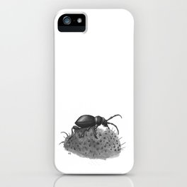 Inktobober 2016: Cactus Longhorn Beetle iPhone Case