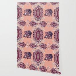 Bohemian Elephant Wallpaper