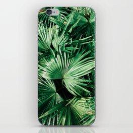 palm patterns iPhone Skin