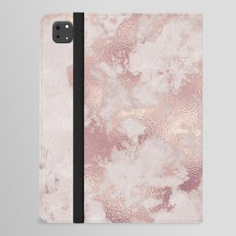 Rosegold Marble  iPad Folio Case