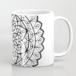free-hand mandala Coffee Mug