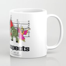 Zoinks! It's the Usual Suspects Coffee Mug