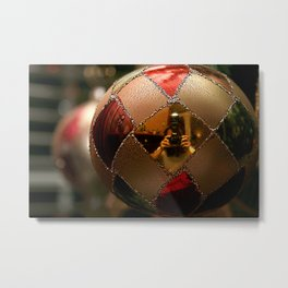 A Photographer's Christmas Greeting Metal Print