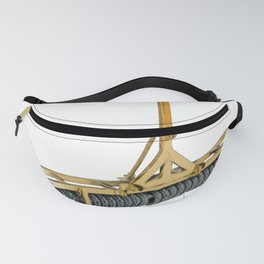 Agriculture roller agricultural tool flattening land clumps ploughing Fanny Pack