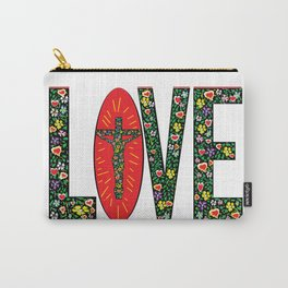 God is Love. Carry-All Pouch