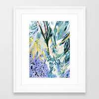botanical Framed Art Prints featuring Botanical by Amanda Swart