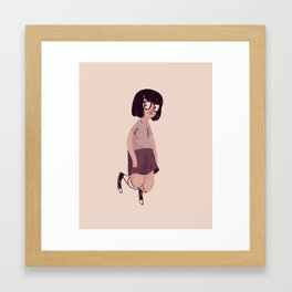 Tina Framed Art Print