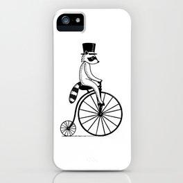 Fancy Raccoon iPhone Case