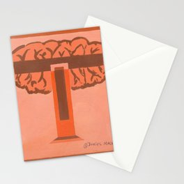 T is for Tree Stationery Cards