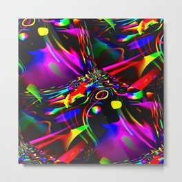 stress fracture Metal Print