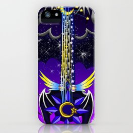 Fusion Keyblade Guitar #148 - Oblivion & Star Seeker iPhone Case