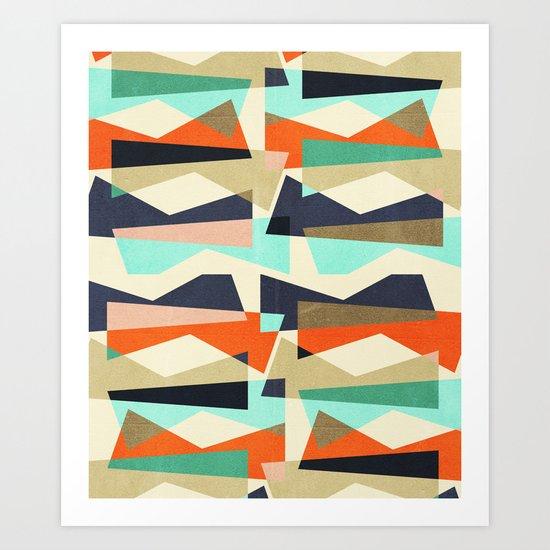 Fragments V Art Print