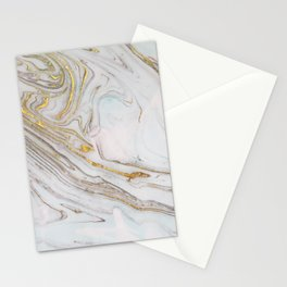 Gorgeous Gold and Marble Print Stationery Cards