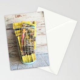 Nancy Drew in a Basket Stationery Cards