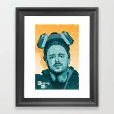 Breaking Bad - Jesse Framed Art Print