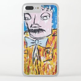 """""""Snake Oil"""" Clear iPhone Case"""