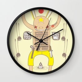 ENVY YOU ENVY ME ! Wall Clock