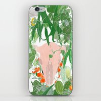 cassandra jean iPhone & iPod Skins featuring Cassandra by Wolfie and the Sneak