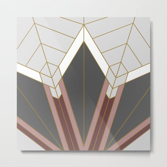 ART DECO G1 (abstract) Metal Print
