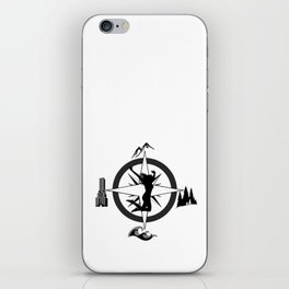 Adventure Bod - Logo iPhone Skin