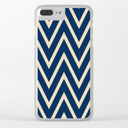 Simplified motives pattern 2 Clear iPhone Case