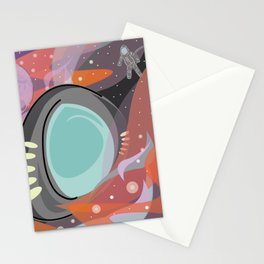 SpaceTravels Stationery Cards