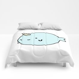Fun and Cute Narwhal Comforters