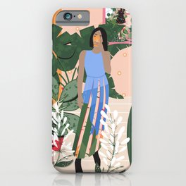 Plant Girl #4 iPhone Case