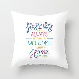 Hogwarts Throw Pillow