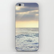 California Sunset over the Pacific Ocean iPhone Skin