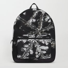 Two Snowflakes Backpack