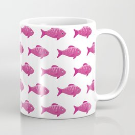 Cute fish colorful pattern Coffee Mug