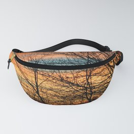 WINTER SUNSET Fanny Pack