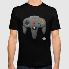 Nintendo 64 Black Mens Fitted Tee MEDIUM