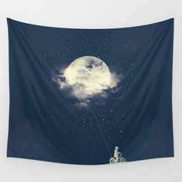 THE BOY WHO STOLE THE MOON Wall Tapestry