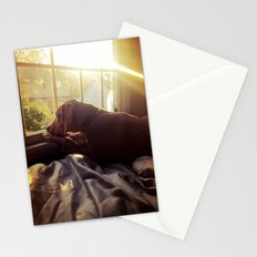 Sitting by the Evening Sun Stationery Cards