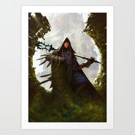 Scavenger Heroes series - 8 Art Print