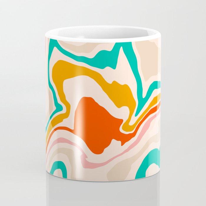 Warm abstract marble Coffee Mug